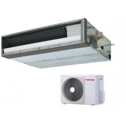 Канальный инверторный кондиционер Toshiba RAV-SM404SDT-E/RAV-SP404ATP-E компактный