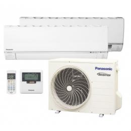 Мульти сплит-система инверторного типа Panasonic CS-E12RKDW/CS-E12RKDW/U-4E23JBE