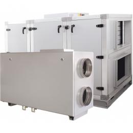 Установка вентиляционная приточно-вытяжная Lessar LV-PACU 1200 HW-V4-ECO компактная (горизонтальная, с водяным нагревом)