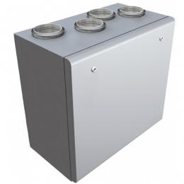 Установка вентиляционная приточно-вытяжная Lessar LV-PACU 1200 VWR(L)-V4-EСO компактная (вертикальная, с водяным нагревом)