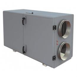 Установка вентиляционная приточно-вытяжная Lessar  LV-PACU 400 HW-V4 компактная (горизонтальная, с водяным нагревом)
