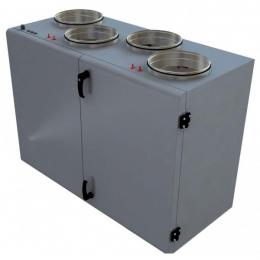 Установка вентиляционная приточно-вытяжная Lessar LV-PACU 1000 VWL(R)-V4 компактная (вертикальная, с водяным нагревом)